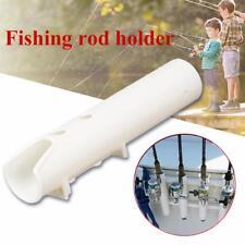 1 Pc Boat Fishing Rod Holders Boat Marine Tube Rod Holder White Plastic