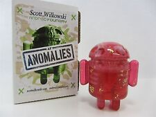 Scott Wilkowski INFECTED ANDROID ANOMALIES resin  Pink w/ Gold flakes
