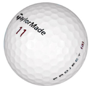 120 Taylor Made Project A Quality Near Mint AAAA Recycled Golf Balls