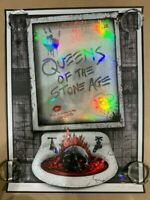 Queens of the Stone Age Portland Emek 2018 S/N Doodle Artist Edition xx/450 S/N