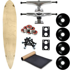 """Moose Longboard Complete 9"""" x 46"""" Pintail Natural"""