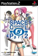 Used PS2 Space Channel 5 Part 2   Japan Import (Free Shipping)