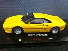 HOT WHEELS ELITE 1/43 Ferrari 288 GTO 1984 Yellow Art. P9929