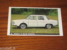 REANULT 10 MAJOR=FIGURINA=1965/66=ALBUM FIGURINE AUTOMOBILI D'OGGI