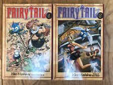 Fairytail Manga Books Vol 1 And 2 - Near Mint Condition