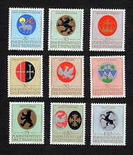 Liechtenstein: Arms of Church Patrons; complete mint set