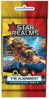 The Alignment Star Realms Command Deck 18 Card Booster White Wizard Games WWG023