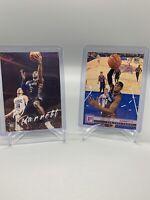 2019-20 Panini Chronicles Purple Lot (2) RJ Barrett - Knicks Rookie SP Card