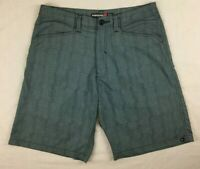 Quiksilver - Grey Casual Shorts - Mens - Size 32