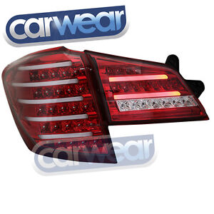 SUBARU LIBERTY / OUTBACK 5GEN WAGON 09-13 CLEAR RED ALTEZZA LED TAIL LIGHTS
