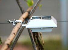 Solar Power 6LED Fence Gutter Light Outdoor Garden Wall Pathway Lamp Lighting