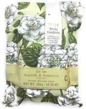 ASQUITH & SOMERSET White Gardenia Moisturising Soap ~1 Bar 10.58 oz / 300g ~ New