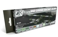 AK Interactive WWI German Aircraft Colours Acrylic Paint Set For Models