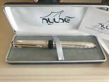 Nyloe .Italy Fountain Pen.New boxed..925 silver.mint unused