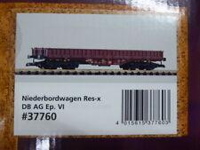 Piko Spur G 37760 Niederbordwagen Bauart Res-x der DB AG,Neu/Ovp