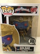 Funko Pop! Power Rangers 25 years  GOLDAR Vinyl Figure # 667 In Hand New