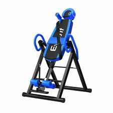 Everfit Foldable Inverter Table for Fitness - Black/Blue