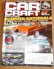 "CAR CRAFT MAGAZINE Dec 2017- Summer Natl, 495"" Pontiac, High-Tech Heat insulatio"