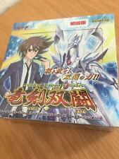 Vanguard Japanese VG-BT16 booster box Legion of Dragons Blades sealed