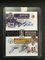 F67551 2015 Contenders Round Numbers Auto Jesse James/MyCole Pruitt /25