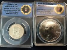 2015P Harry Truman Chronicles set ANACS RP70 Reverse Proof PR First  Strike
