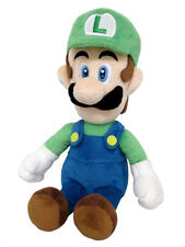 "Little Buddy 1415 Super Mario All Star Collection 10"" Luigi Stuffed Plush Doll"