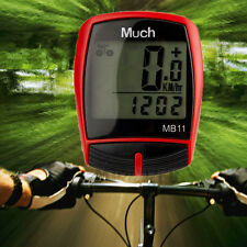 Wireless Waterproof Cycle Bicycle Bike LCD Computer Speedometer Odometer Speed M