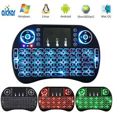 Mini i8 2.4GHz 3 Colors Backlit Wireless Keyboard Touchpad for PC TV Box XBOX360