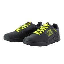 O'Neal Pinned Downhill Enduro Mountain Bike Flat Pedal Shoes - Black/Yellow