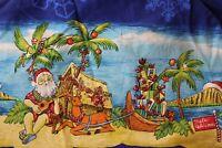 Aloha Republic Made Hawaii Santa CLaus Christmas Shirt Medium M
