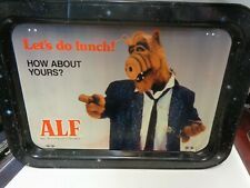 ALF TV SHOW VINTAGE IN ORIGINAL PACKAGE SNACK LUNCH KID TRAY RARE