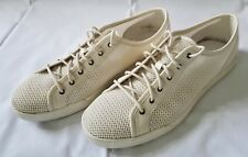 Mens Size 11M Ivory Cole Haan Mesh Summer Boat and Deck Shoes C12538C14 preowned