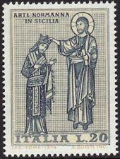 ITALIA -  FRANCOBOLLO ARTE NORMANNA IN SICILIA 20 LIRE 1974 -  nuovo