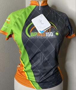 Women's BP MS150 2015 Primal Reglan Cycling Jersey Large Full Zipper Sport Cut