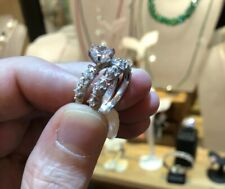 Vintage Style Victorian Art Deco 1.25 Carat Created Diamond Solid Sterling