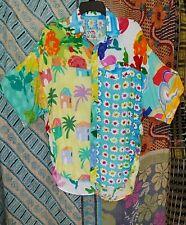 Women's Vtg. 90's?Jams World Button Front Floral Shirt Oversized S M651Re