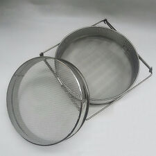 doppelt Honig Sieb / Filter - Edelstahl - Imkerei Ausrüstung - Sieben