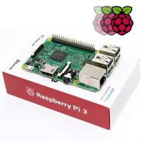 Raspberry Pi 3 1GB RAM Model B 1.2GHz Quad Core WiFi & Bluetooth 4.1 64bit CPU