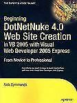 BEGINNING DOTNETNUKE 4.0 WEB SITE CREATION, - NEW PRE-LOADED AUDIO PLAYER BOOK