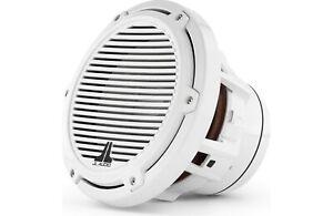 "JL Audio M8W5-CG-WH Marine Subwoofer White Classic Grill 4-Ohm JL Audio 8.8"""