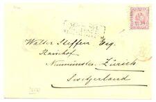 DUTCH INDIES-1894-NED INDIE VIA BRINDISI BRITSCHE PAKKETB: (R61) CV VK ST.....