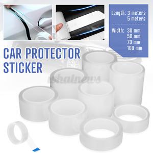 Clear Car Door Bumper Edge Guard Protector Film Anti-Scratch Sticker