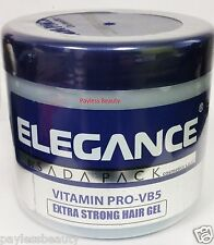 Elegance Extra Strong  Hair Gel Pomade Wax 33.8oz / 1000ML
