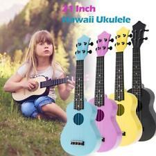 More details for 21'' soprano ukulele 4 string hawaii guitar for children beginner kids toy gifts