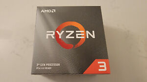 AMD Ryzen 3 3300X Processor W/Wraith Stealth Cooler **IN HAND**SHIPS TODAY**NEW*