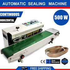 5000w Auto Plastic Bag Sealing Machine Band Sealer Horizontal Fr900 Continuous