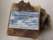 Handmade Warm Vanilla Sugar Wash Bar / Soap / Gift Idea