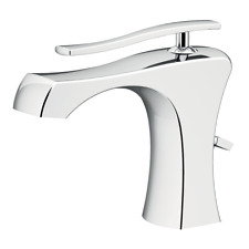 ICARUS Bathroom  FAUCET BASIN MIXER, WITHOUT WASTE CHROME MADE IN ITALY !
