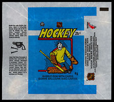 1982-83 OPC O-PEE-CHEE HOCKEY WAX PACK WRAPPER GRANT FUHR RC YEAR PLASTIC TOY AD