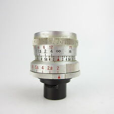 Für Pentaka 8 Carl Zeiss Jena Biotar Q1 2/12,5 Objektiv lens